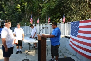 6/12/2016 Post 421 Flag Retirement Ceremony